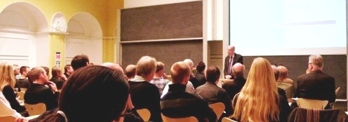 Joel Slemrod during the 2008 Zeuthen Lectures